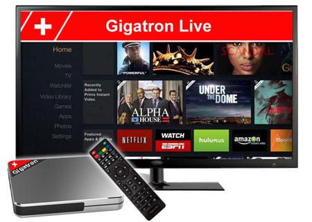 GIGATRON IPTV BOX UHD